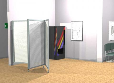 Ala roller light pannelli divisori pareti mobili - Pannelli divisori ikea ...