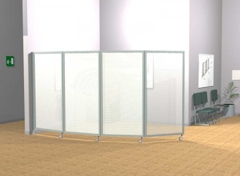 ala roller light pannelli divisori pareti mobili