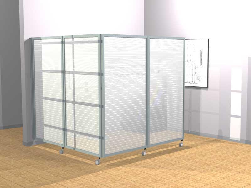 Ala roller light pannelli divisori pareti mobili - Separe per interni ...