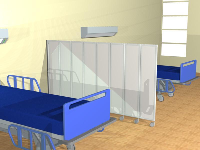 Clipper roller light 30 pannelli divisori pareti mobili - Separe prezzi ...