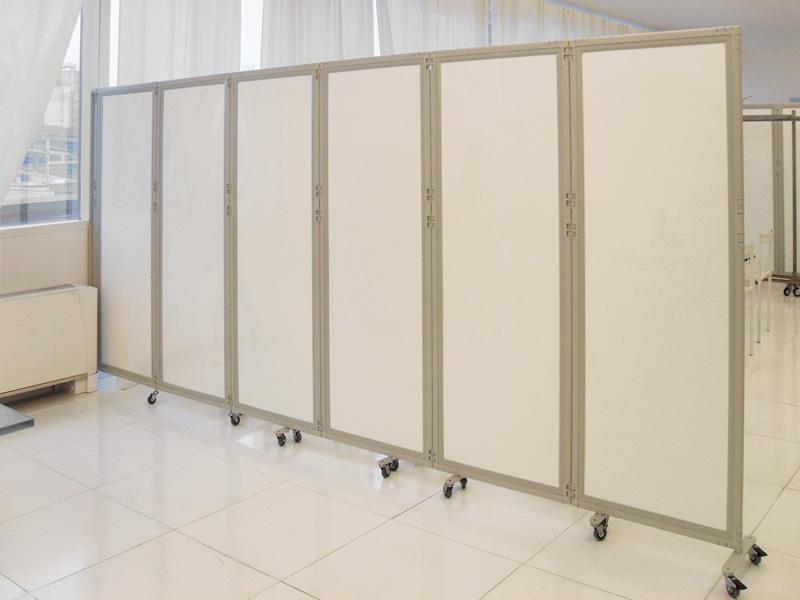 Clipper roller light pannelli divisori pareti mobili - Separe prezzi ...