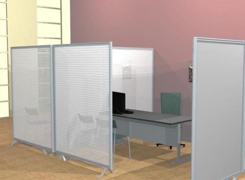 pannelli divisori economici pareti divisorie per uffici