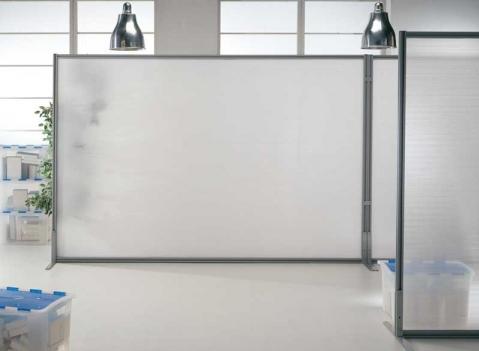 Linea macro pannelli divisori pareti mobili separ su for Divisori ambienti ikea