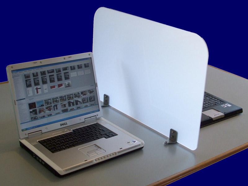 Linea ondesk pannelli divisori pareti mobili separ su for Divisori per ufficio