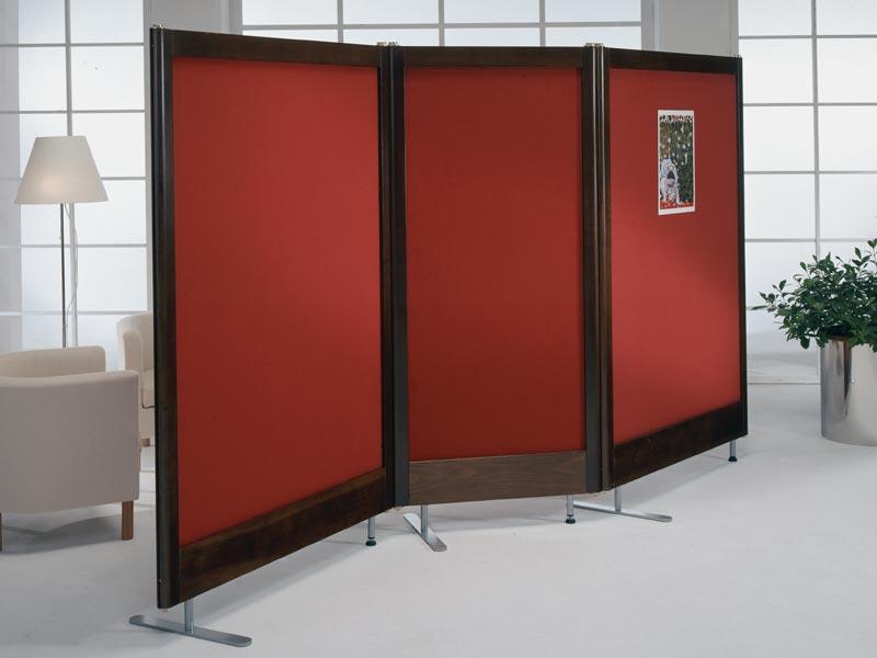 Linea xilox pannelli divisori pareti mobili separ su for Divisori mobili per ufficio