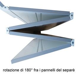SPARTA - Pannelli divisori, pareti mobili, separè su ruote, schermi flessibili, progettazione ...