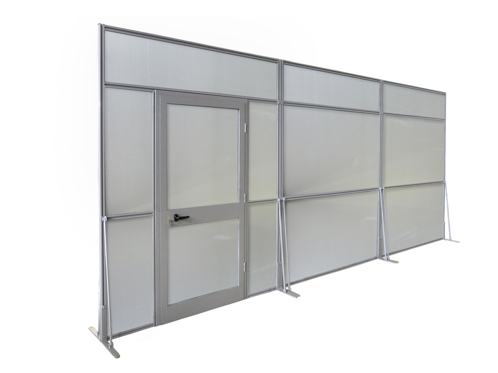 Pareti Divisorie Mobili Su Ruote: Pareti divisorie mobili soggiorno.