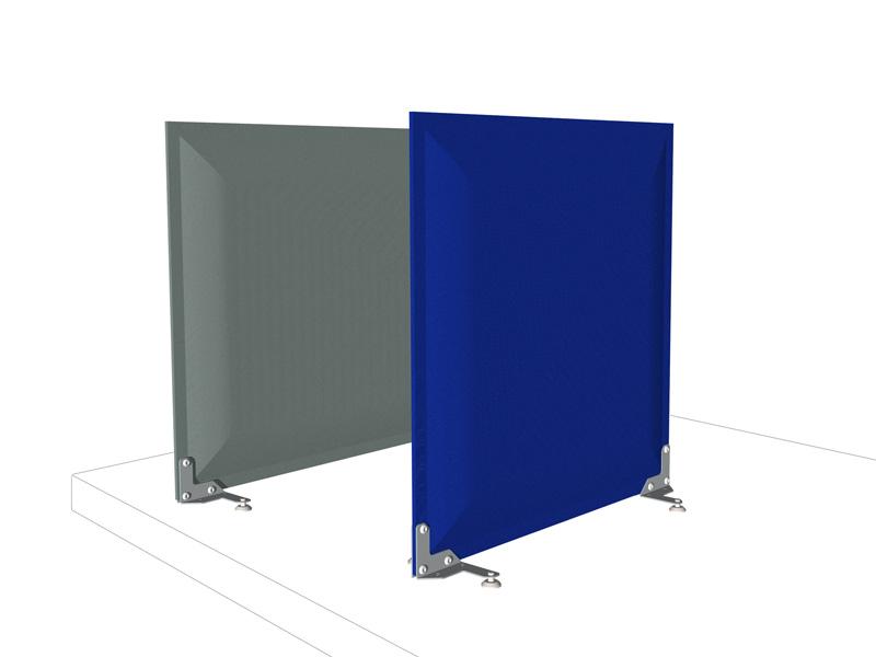 Linea modo pannelli divisori pareti mobili separ su for Piani di costruzione di storage rv