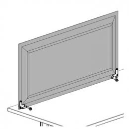 Schermo modo per piani di lavoro cm 116x56h for Piani di costruzione di storage rv