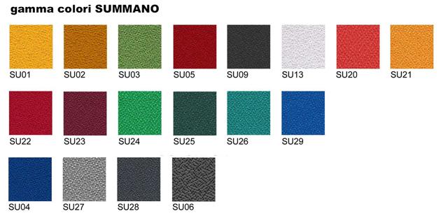 Linea zipsound 02 pannelli divisori pareti mobili for Gamma colori pareti