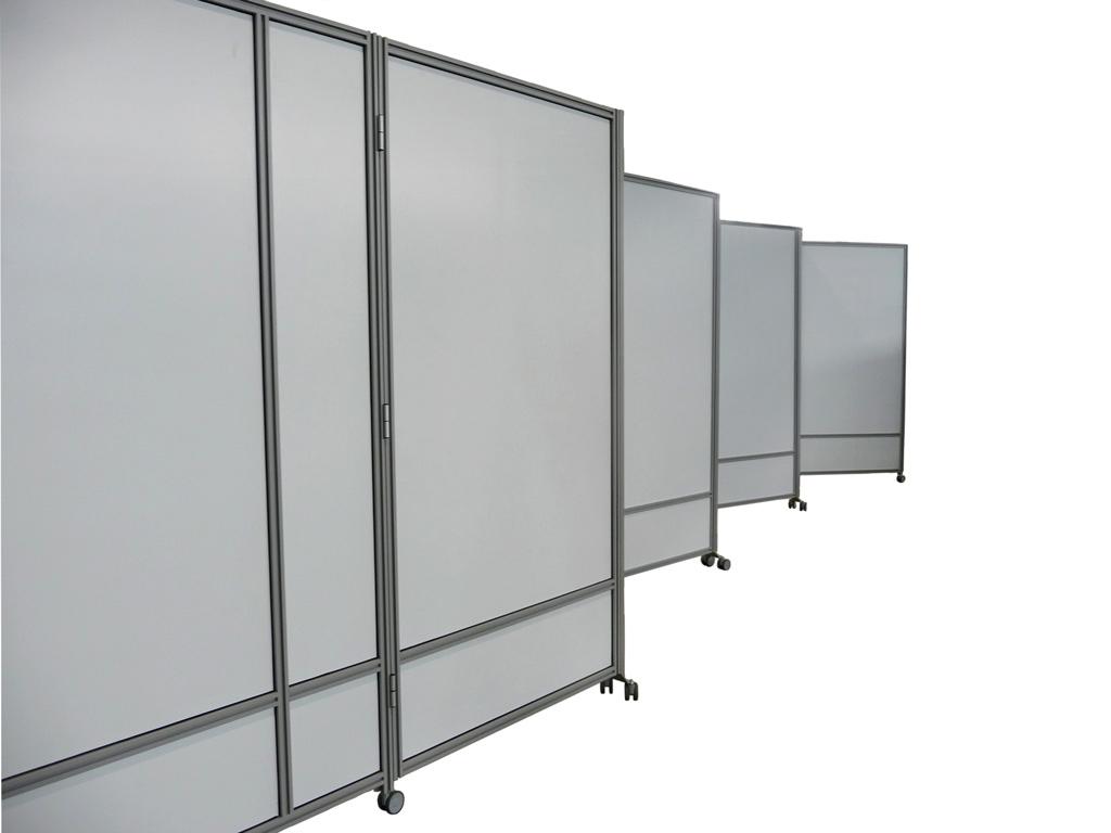 Parete Attrezzata Zig Zag : Macro zig zag pannelli divisori pareti mobili separè su ruote
